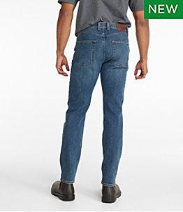 Men's BeanFlex Jeans, Standard Fit Slim Straight