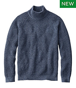 Men's L.L.Bean Organic Cotton Sweaters, Turtleneck