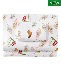 Sara Fitz™ Winter Print Flannel Sheet Collection