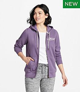 Women's L.L.Bean 1912 Sweatshirt, Full-Zip Hooded Logo