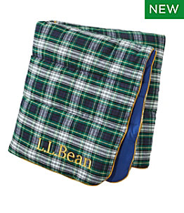 L.L.Bean Flannel Camp Blanket