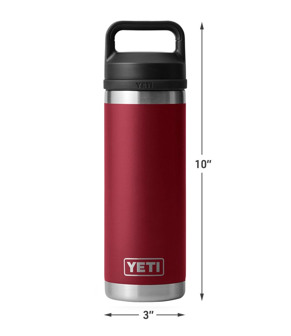 Yeti Rambler Bottle with Chug Cap, 18 oz.