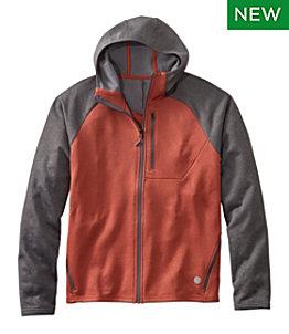 Men's Mountain Fleece Full-Zip Hoodie, Colorblock