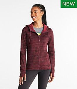 Women's Primaloft ThermaStretch Fleece, Full-Zip Hoodie
