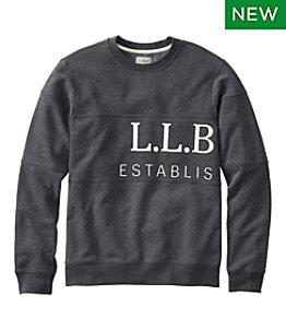 Men's L.L.Bean 1912 Sweatshirt, Crewneck, Graphic