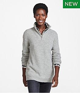 Women's Cozy Cloud Sweater, Quarter-Zip