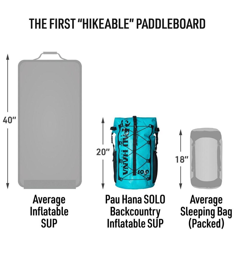 """Pau Hana SOLO Backcountry Inflatable SUP Package, 10'10"""""""
