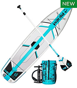 Pau Hana SOLO Backcountry Inflatable SUP Package, 10'10""