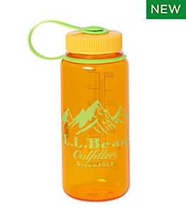 Nalgene Sustain Wide Mouth Water Bottle with L.L.Bean Print, 16 oz.
