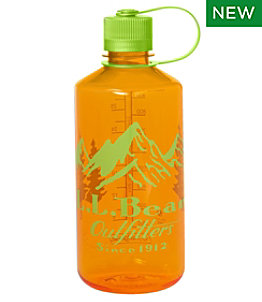 Nalgene Sustain Narrow Mouth Water Bottle with L.L.Bean Print, 32 oz.
