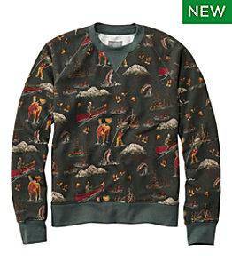 Men's Signature Heritage Sweatshirt, Crewneck, Print
