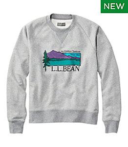 Men's Signature Heritage Sweatshirt, Crewneck, Graphic