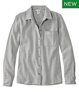 Women's Signature Heritage Textured Flannel Shirt