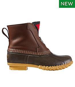 """Women's Bean Boots, 7"""" Fleece-Lined Front-Zip"""