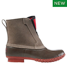 """Men's Bean Boots, 8"""" Fleece-Lined PrimaLoft Front Zip"""