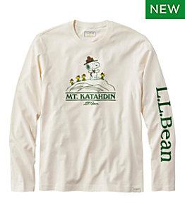 Men's L.L. Bean x Peanuts Long-Sleeve T-Shirt