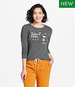 Women's L.L.Bean x Peanuts Long-Sleeve T-Shirt