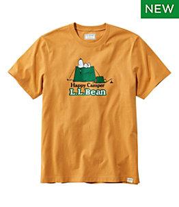 Men's L.L. Bean x Peanuts Short-Sleeve T-Shirt