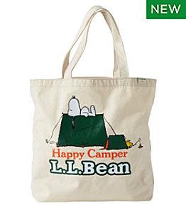 L.L.Bean x Peanuts Wicked Shoppah Tote