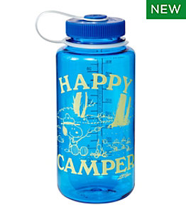 L.L.Bean x Peanuts Sustainable Water Bottle Wide Mouth, 32 oz.