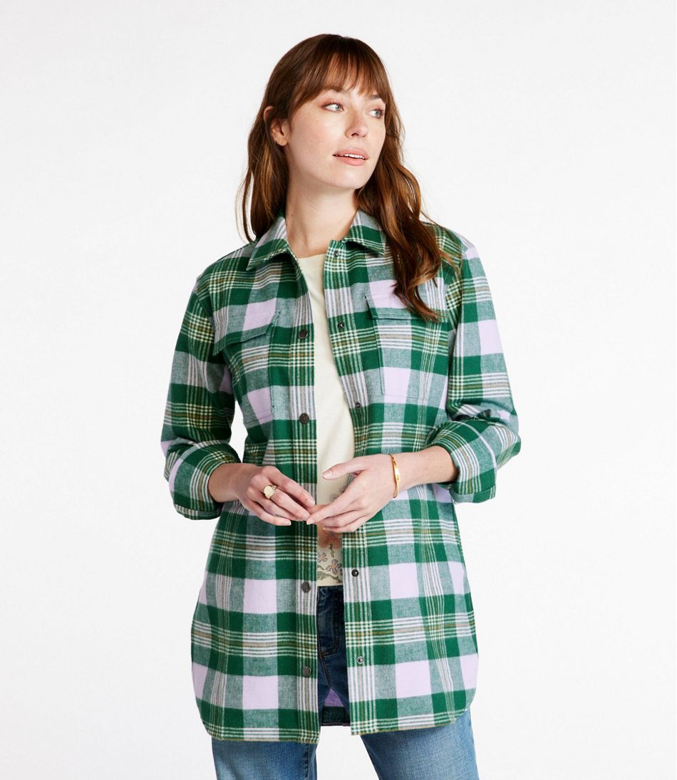 Women's Signature Chamois Shirt, Snap-Front Plaid