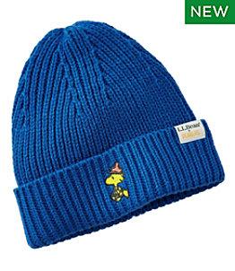 Kids' L.L.Bean x Peanuts Beanie Hat Embroidery