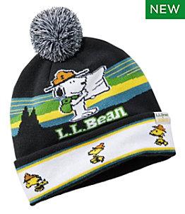 Kids' L.L.Bean x Peanuts Pom Hat