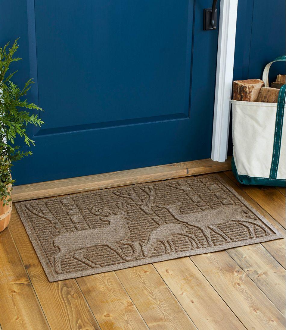 Everyspace Recycled Waterhog Doormat, Deer