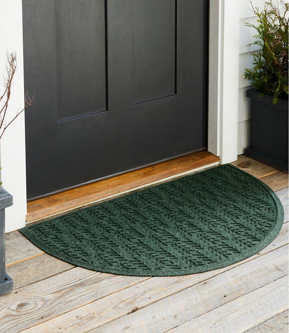 Everyspace Recycled Waterhog Doormat, Crescent, Trees