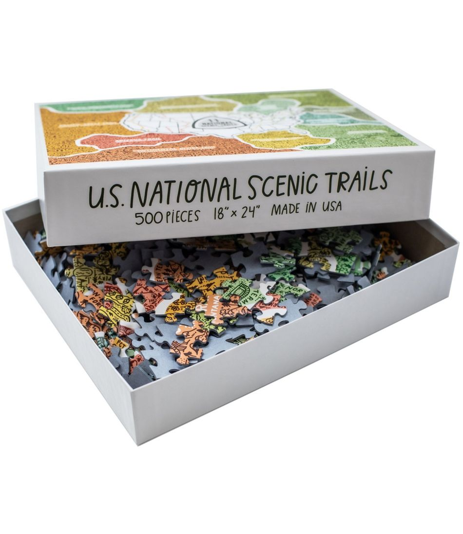 National Trails Puzzle