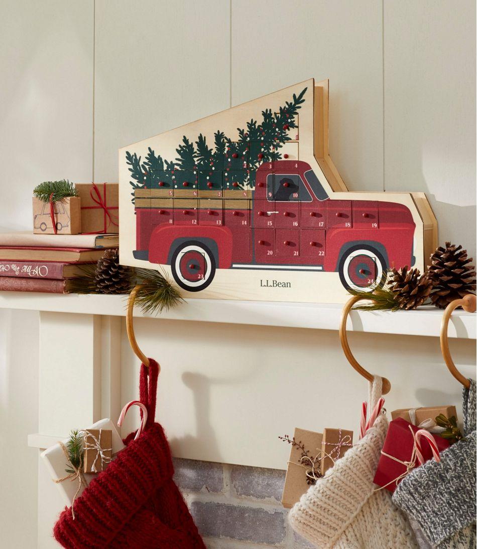 Red Truck Advent Calendar
