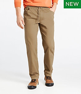Men's BeanFlex Canvas Pull-On Pants, Standard Fit