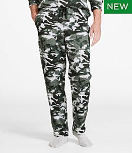 Men's Lightweight Sweater Fleece Pants, Printed