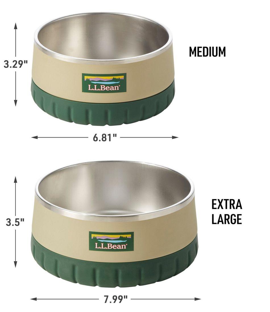 L.L.Bean Insulated Dog Bowl