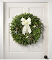 """Coastal Evergreen Wreath 24"""", One Color, small image number 0"""