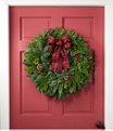 """NEW Buffalo Plaid Wreath 24"""", One Color, small image number 1"""