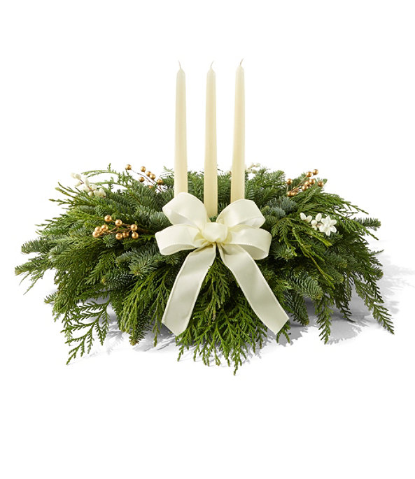 Winter White Centerpiece, Regular, One Color, large image number 0