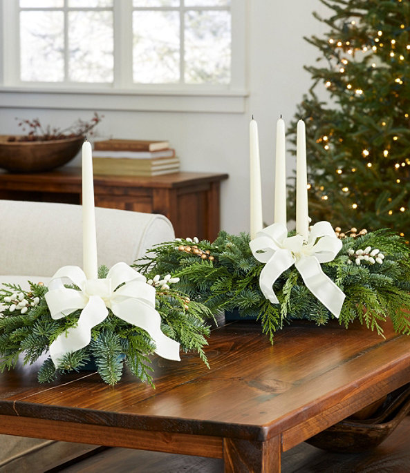 Winter White Centerpiece, Small, One Color, large image number 1