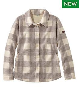 Women's Cozy Cottage Fleece, Shirt Print