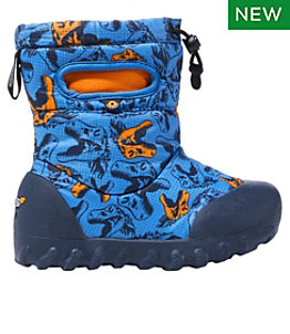 Toddlers' Bogs B-Moc Snow Boots, Cool Dinos
