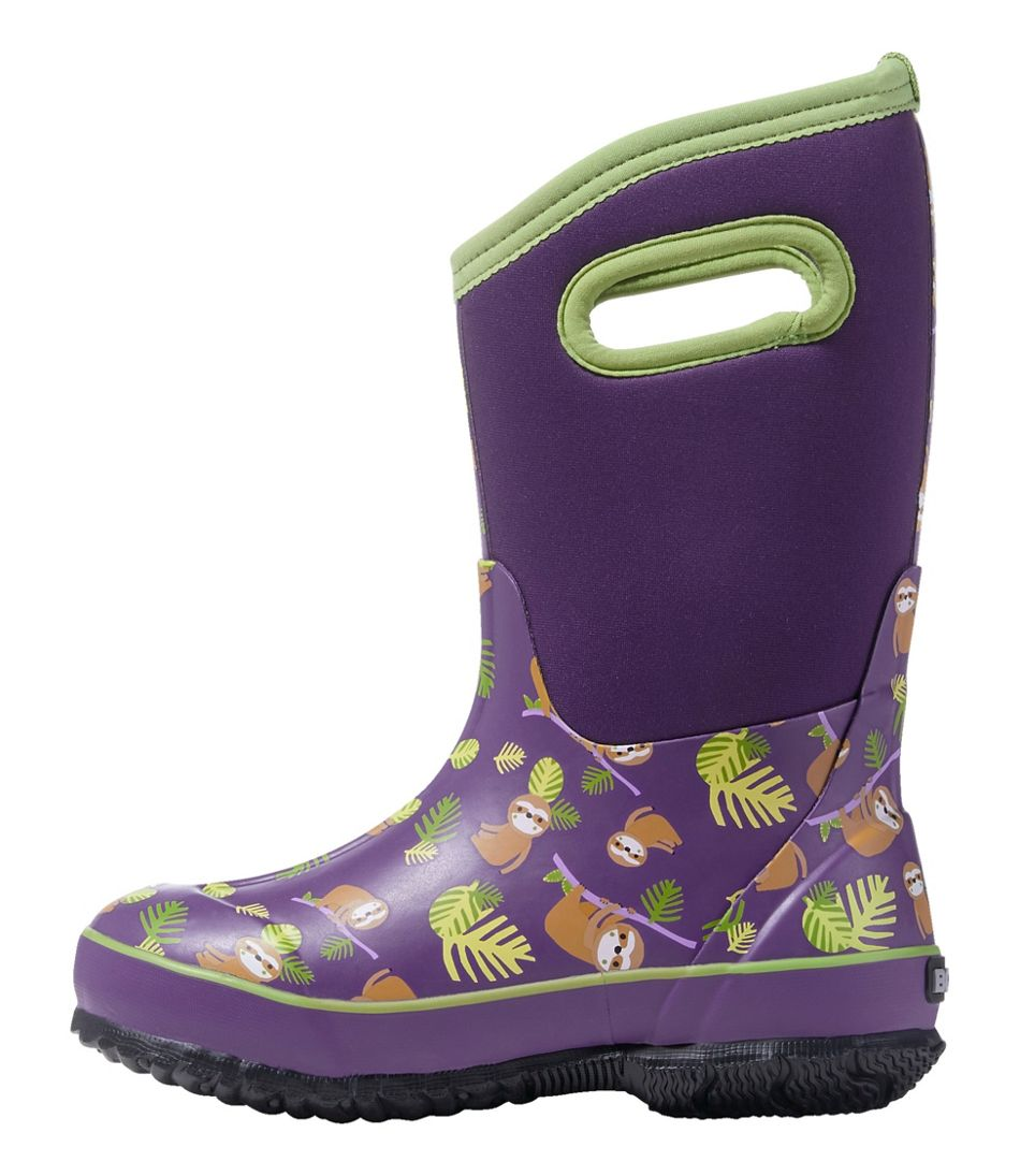 Kids' Bogs Classic Sloth Boots