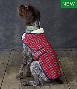 Flannel Sherpa Dog Vest