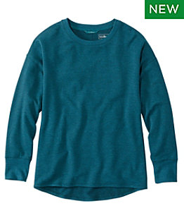 Women's SoftFlex Crewneck Dolman Sleeve Pullover