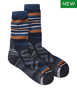 Men's Smartwool Performance Hike Full Cushion Rail Stripe Sock, Crew