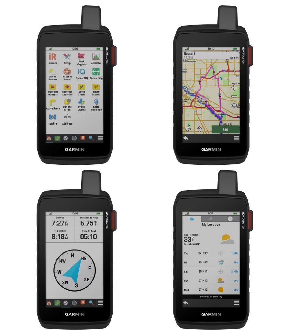 Garmin Montana 700i GPS with inReach Technology