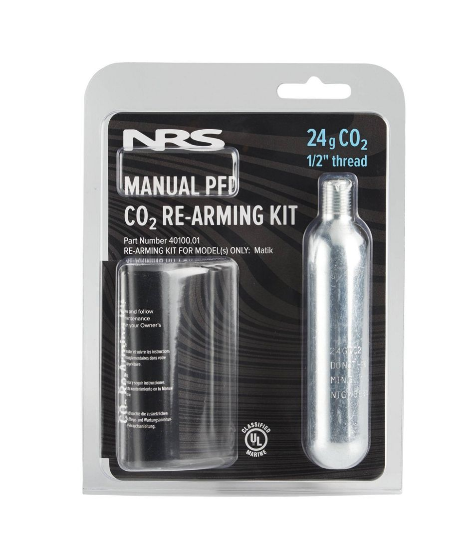 NRS Zephyr and Matik CO2 Re-Arming Kit, 24 Grams