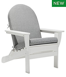 Adirondack Chair Seat and Back Textured Cushion