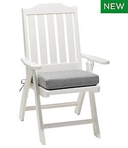 All Weather Folding/Armless Chair Textured Cushion
