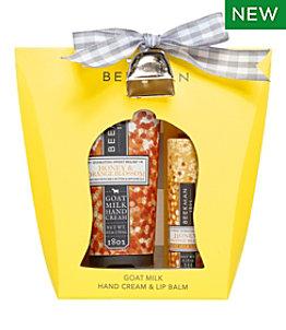 Beekman Hand Cream & Lip Balm Gift Set